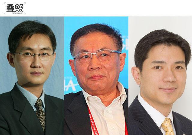 2012年的深圳IT领袖峰会上,百度CEO李彦宏和腾讯CEO马化腾在