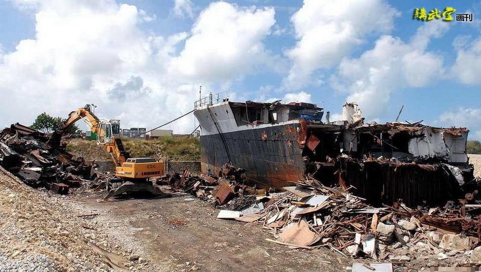 温德拉什河号2011年被拆解