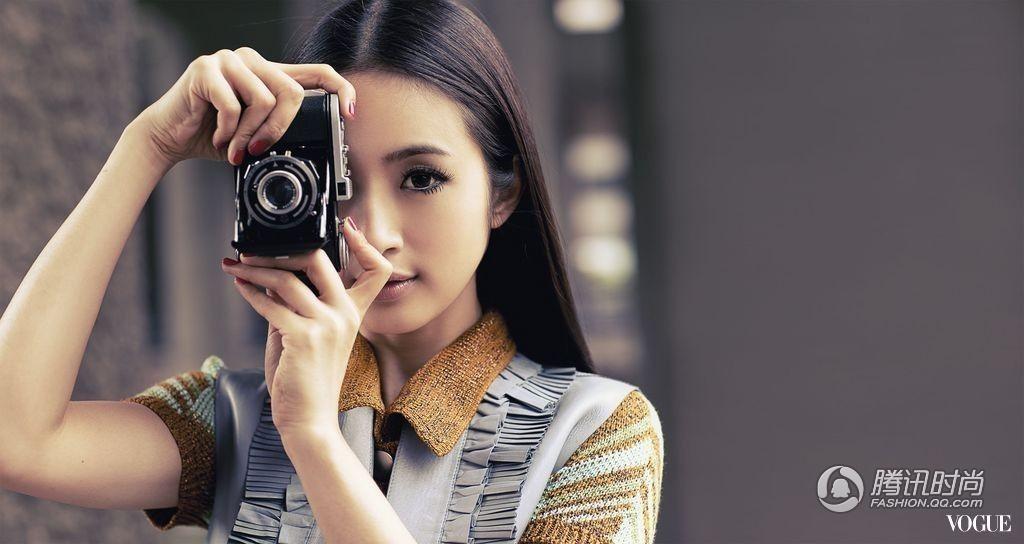 林依晨婚后时尚写真大片 小娇羞也可以有贵妇
