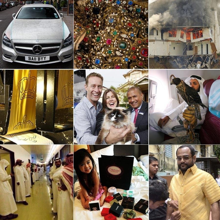 盘点2014年地球上任性的土豪们