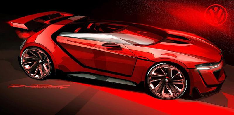 视觉GT赛车 大众GTI敞篷概念跑车
