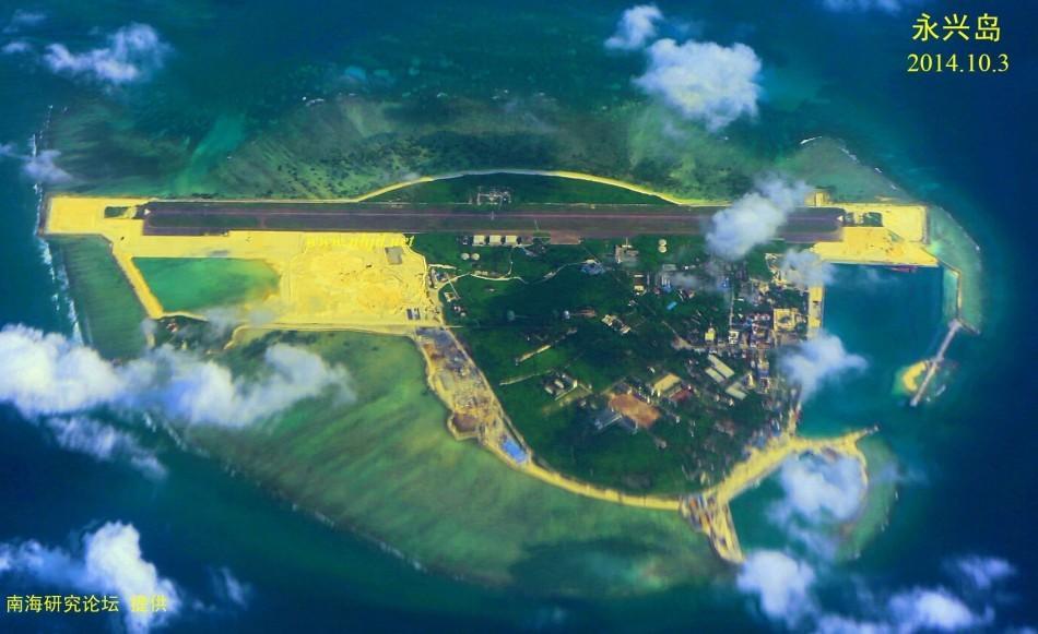 永兴岛扩建