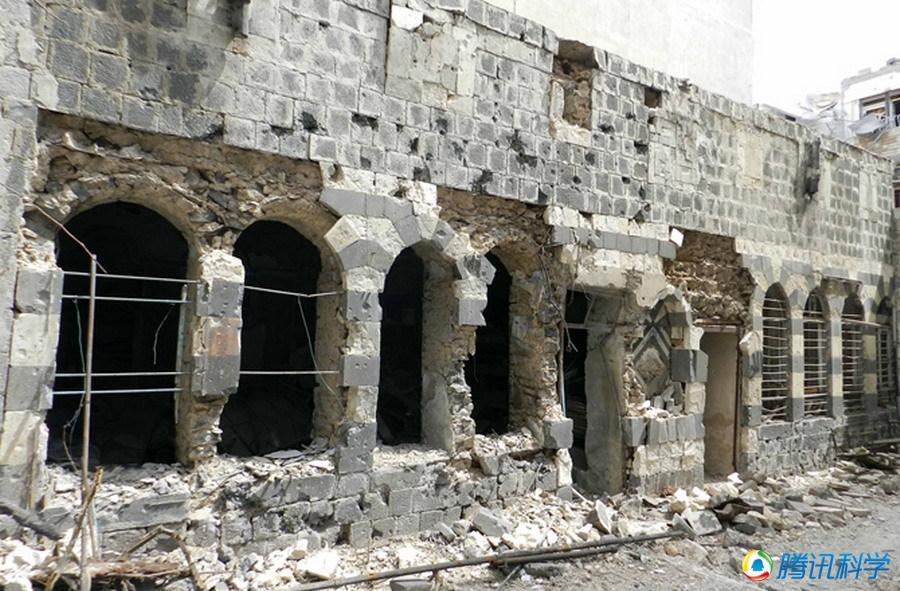 叙利亚历史古迹遭受严重破坏:叙利亚的政局动荡从某种程度上考验卫图片