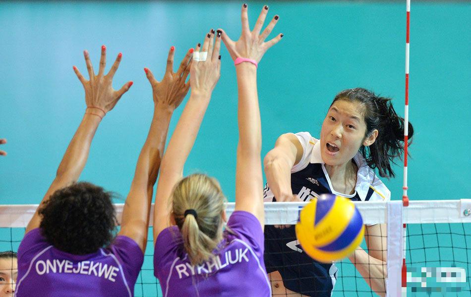 10.朱婷(女、排球) 20岁,中国女排时隔16年重回世界女排锦标高清图片