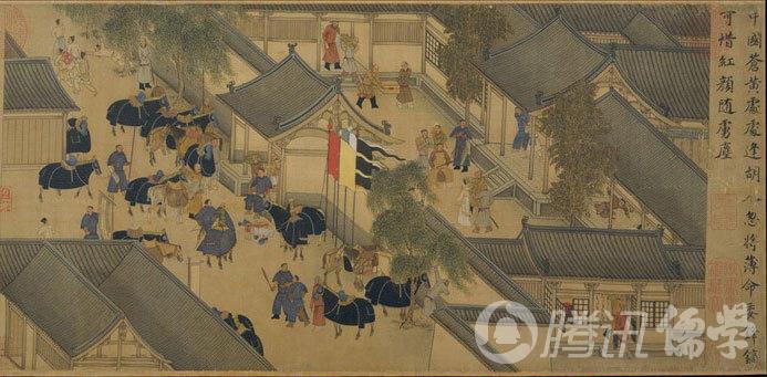 东汉末年,文学家蔡邕之女蔡文姬于战乱中被匈妈人掳去,十二年后方