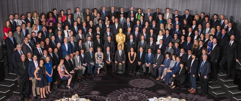 日,2015年奥斯卡提名午宴在加州贝弗利山贝弗利希尔顿酒店举行,