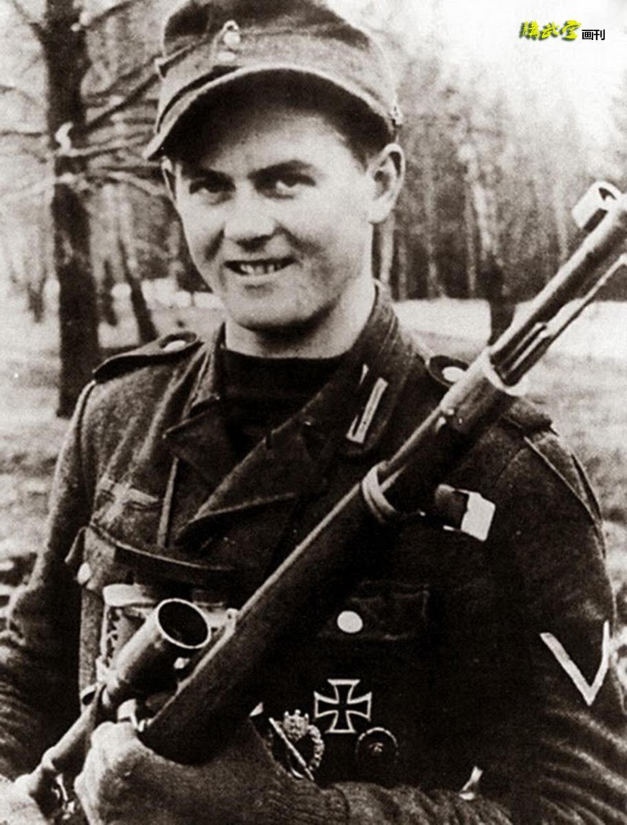 德军狙击手,使用毛瑟步枪.图片