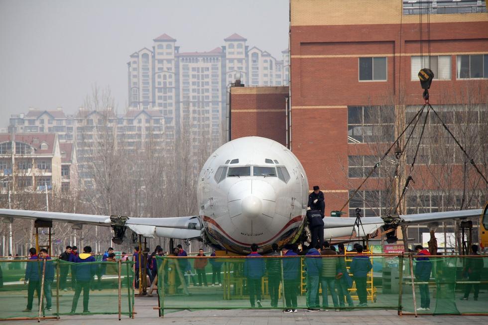 山东一高校千万购进退役波音737供教学2015.3.13 - fpdlgswmx - fpdlgswmx的博客
