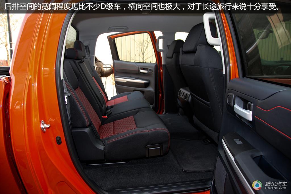 2015款丰田坦途实拍 越野利器高清图片