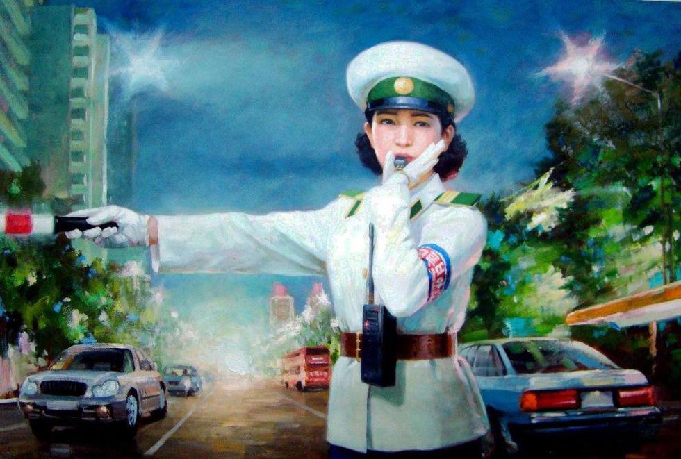 朝鲜油画里的美女们 知乎精选 第4张