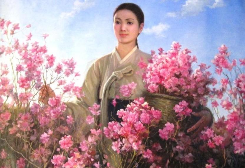朝鲜油画里的美女们 知乎精选 第7张