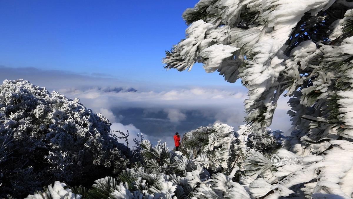 [转载]   江西庐山四月天----现雾凇云海壮景 - 林梅 - 林梅的博客