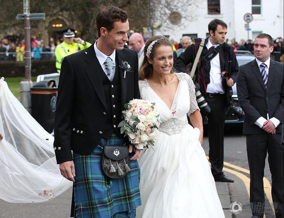 醉了 穆雷大婚穿苏格兰裙 你被雷到了吗