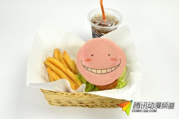 《暗杀教室》杀老师汉堡包等新快餐问世