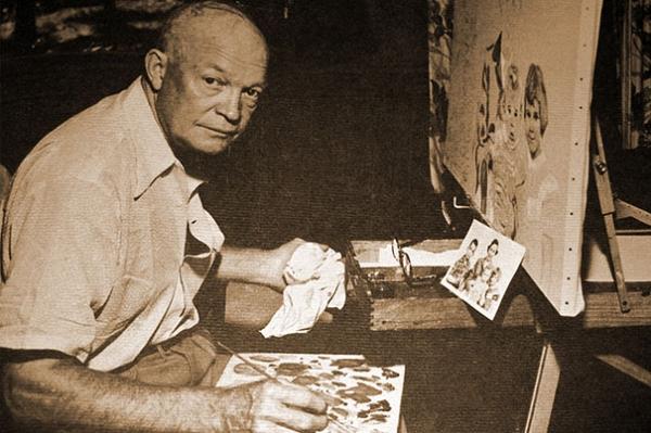 艾森豪威尔的画