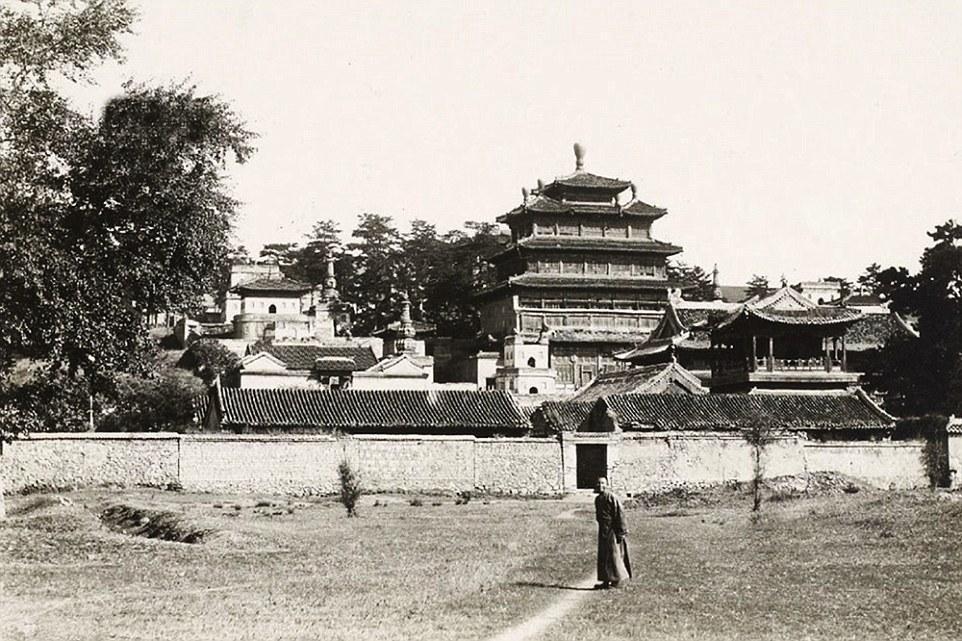 在自拍杆和游客潮诞生之前:清朝时的北京旧照 - 海阔山遥 - .