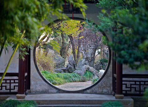 中华园林 幽深沧桑之美 - 楚楚 - 丝履五文章的博客