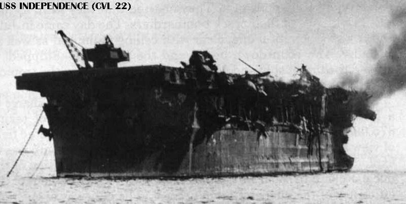 底沉睡64年的二战航母