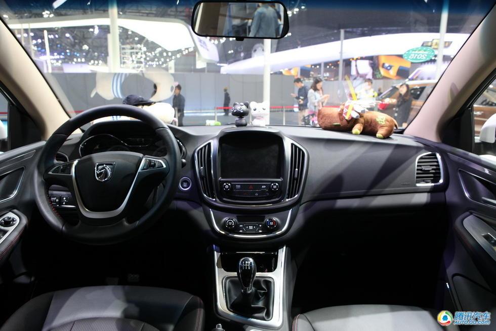 宝骏560实车曝光 SUV中的又一匹黑马高清图片