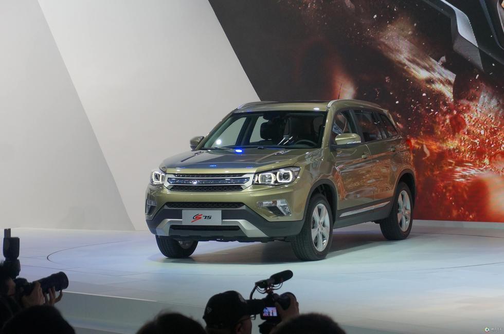 安CS75曾于2014北京车展正式上市,定位为紧凑型SUV,上市至图片