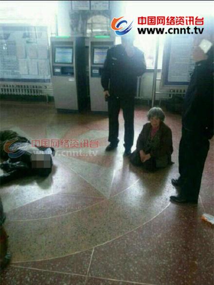 黑龙江庆安火车站一男子被民警击毙 现场曝光 - 海阔山遥 - .