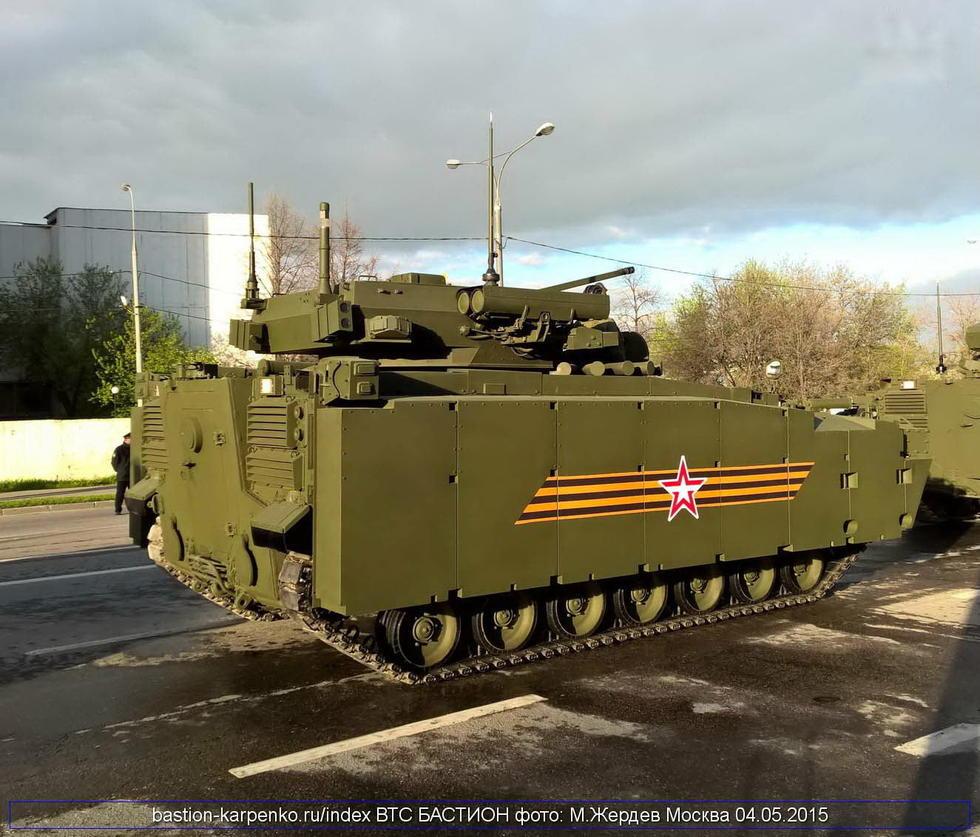 """俄罗斯""""库尔干人25""""步战车"""