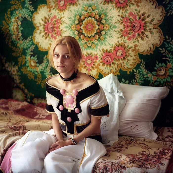 高贵冷艳 俄罗斯年轻一代的Cosplay赏图片