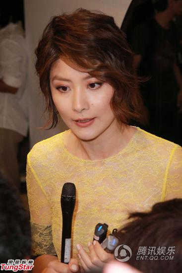陈慧琳为个唱换俏丽短发图片