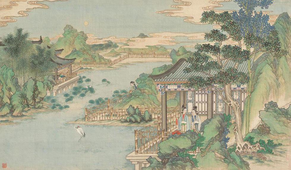 古代名著手绘本之孙温《红楼梦》