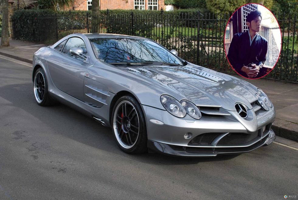 【奔驰slr722超级跑车】这是全球限量发售150辆的超级跑车,高清图片
