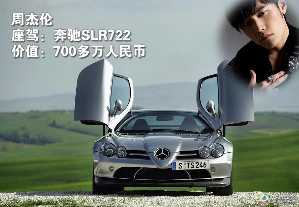 奔驰slr722超级跑车高清图片