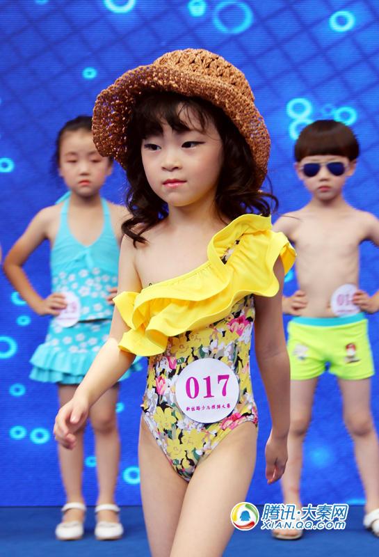 少儿模特大赛泳装内容 少儿模特大赛泳装版面设计