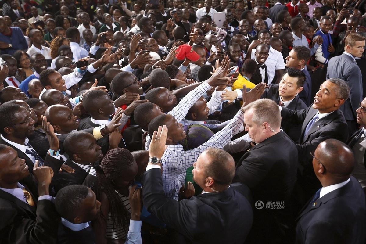 肯尼亚.在这个贫困人口比例达43%、艾滋病肆虐的非洲东部国家