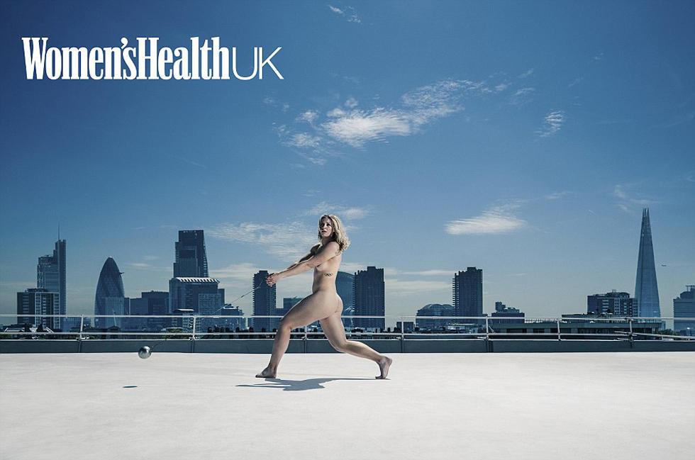英国杂志拍全裸写真