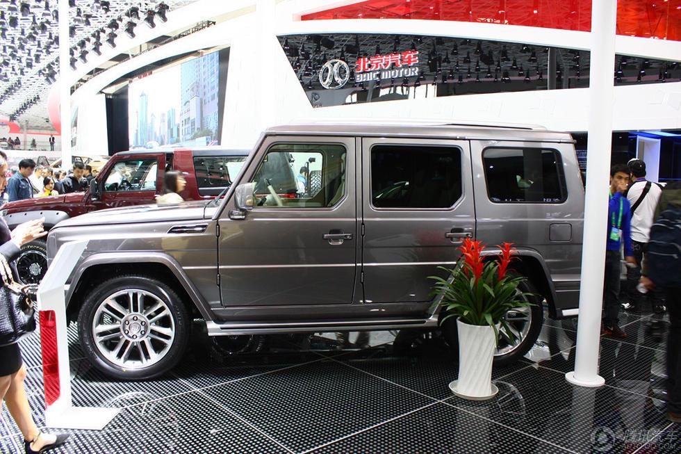 图为2014年北京车展上展出的北汽BJ80.-山寨G系越野车 预售或为30图片