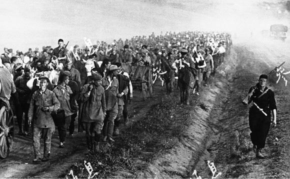 二战老照片 德军入侵苏联的巴巴罗萨行动 三图片