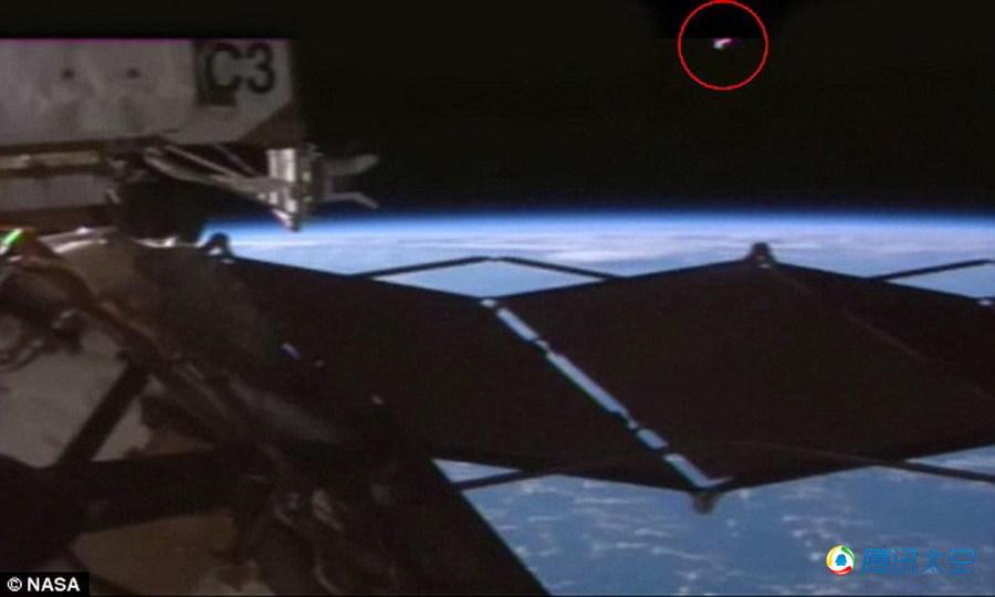 """神秘视频泄露:国际空间站或被""""UFO""""监控_科技_腾讯网"""