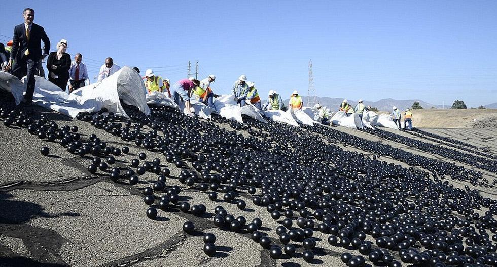 加州使用9600万个球