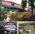 花2000美元买了旧飞机改造成豪宅 酷毙了!