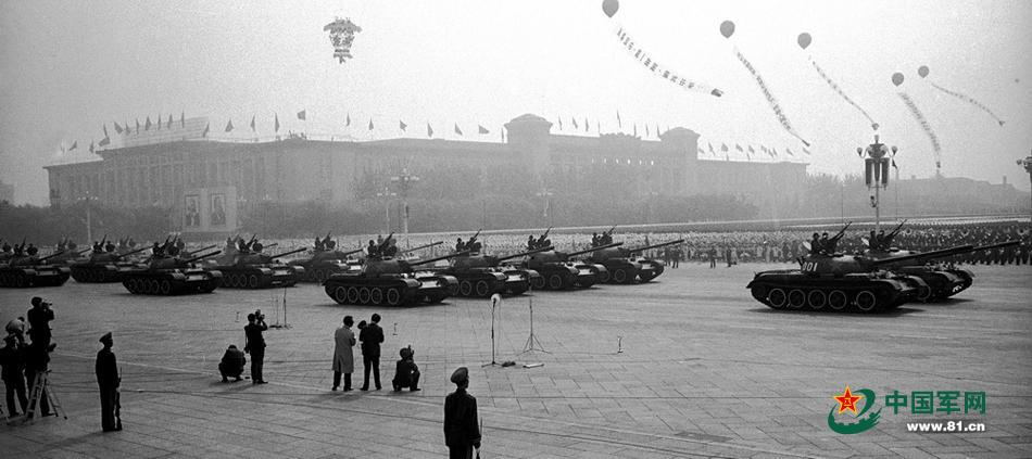 从阅兵式观解放军坦克奋进史