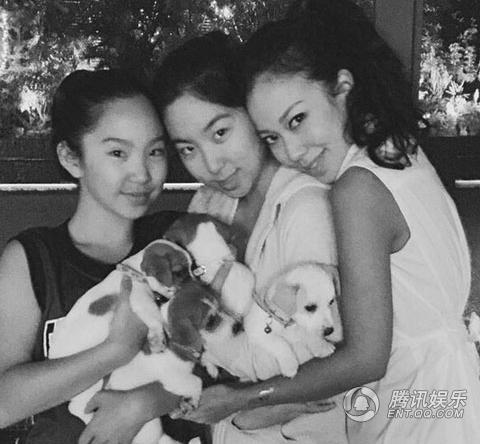 林青霞仨女兒近照曝光 網友嘆無人繼承女神美貌
