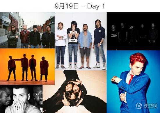 "Echo Park""回声公园""音乐节 完整艺人阵容公布"