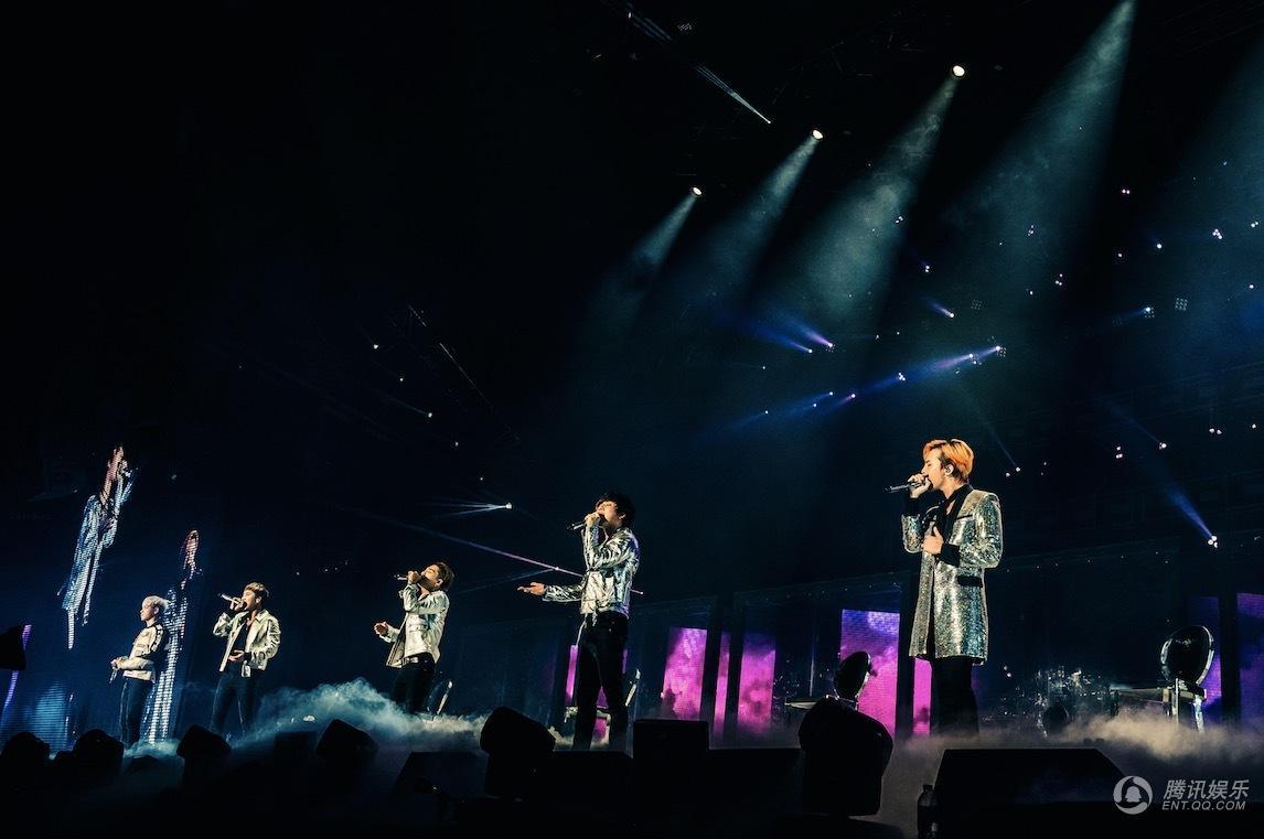 BIGBANG杭州演唱会结束 超2万名粉丝共狂欢