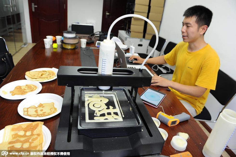 【3d煎饼打印机加盟】