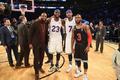 詹姆斯情商有多高?NBA兄弟成群 结忘年之交