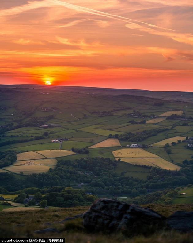 摄影师拍英国风景 宛若仙境