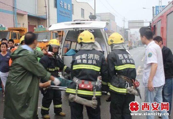 西安富鱼路今早发生一起严重车祸 现场2死7伤 西安人气社区 悦西安
