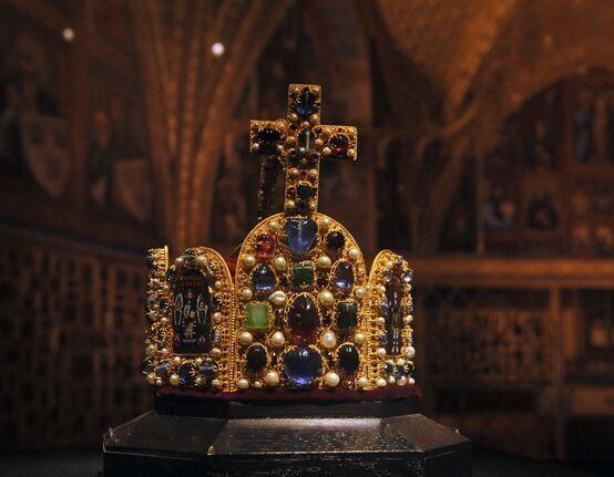 走进四川省博物院 目睹罗马帝国的贵族皇冠