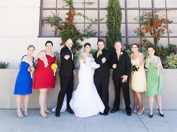 发烧友必看的 哈利波特 主题婚礼
