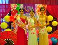 星海湾邀中国旅游佳丽与市民狂欢庆中秋